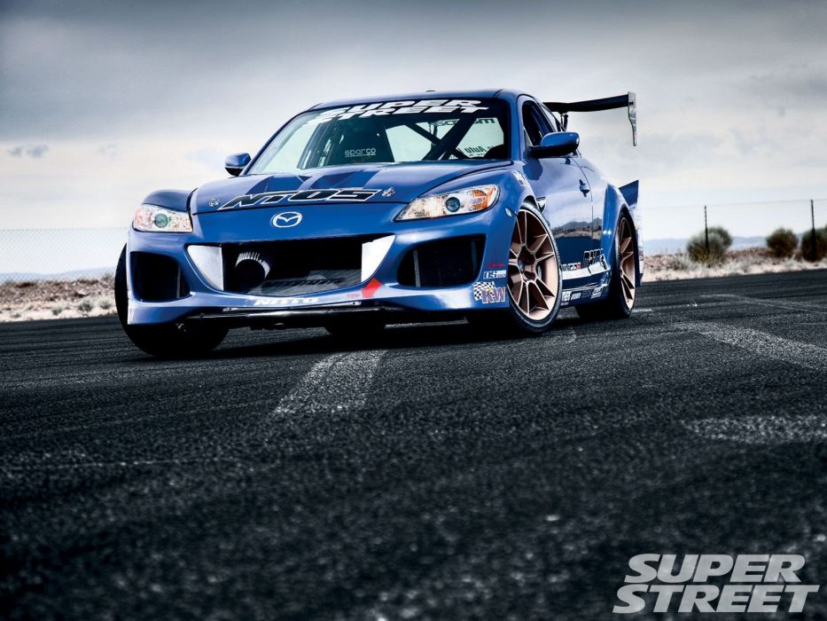 mazda-RX8 coupe tuning japan body kit cars wallpaper