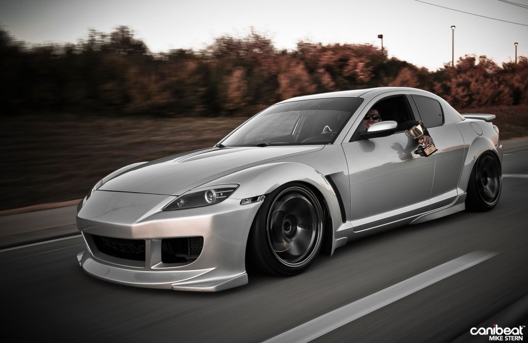 Mazda Rx8 Coupe Tuning Japan Body Kit Cars Wallpaper