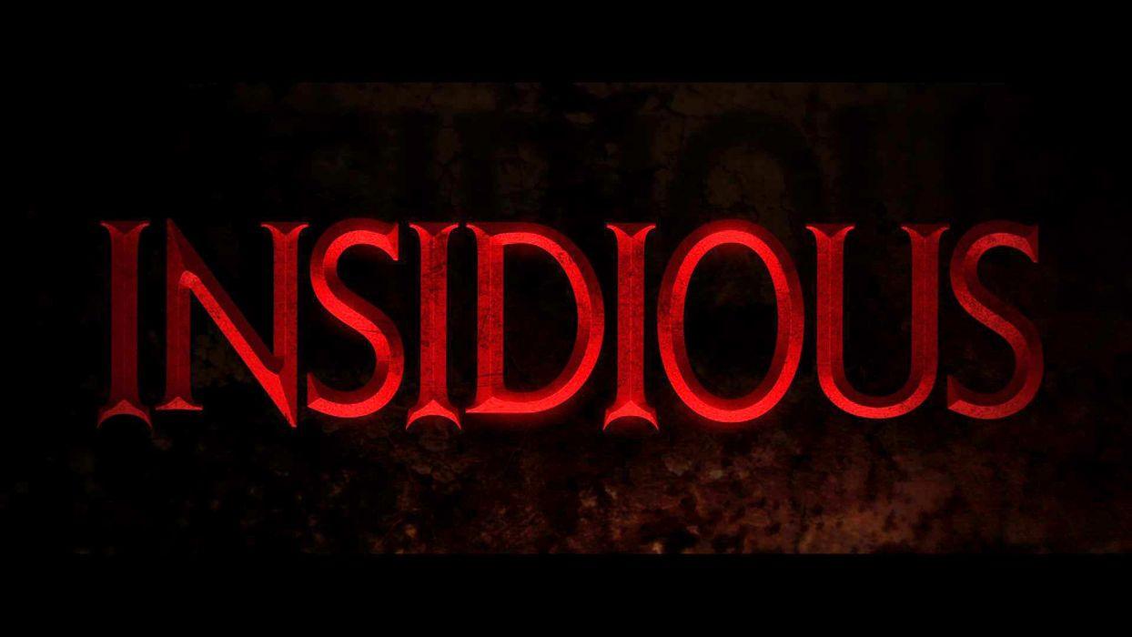 INSIDIOUS supernatural horror dark thriller wallpaper