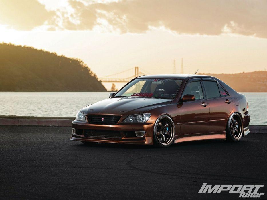 lexus is-250 is-300 japan cars tuning wallpaper