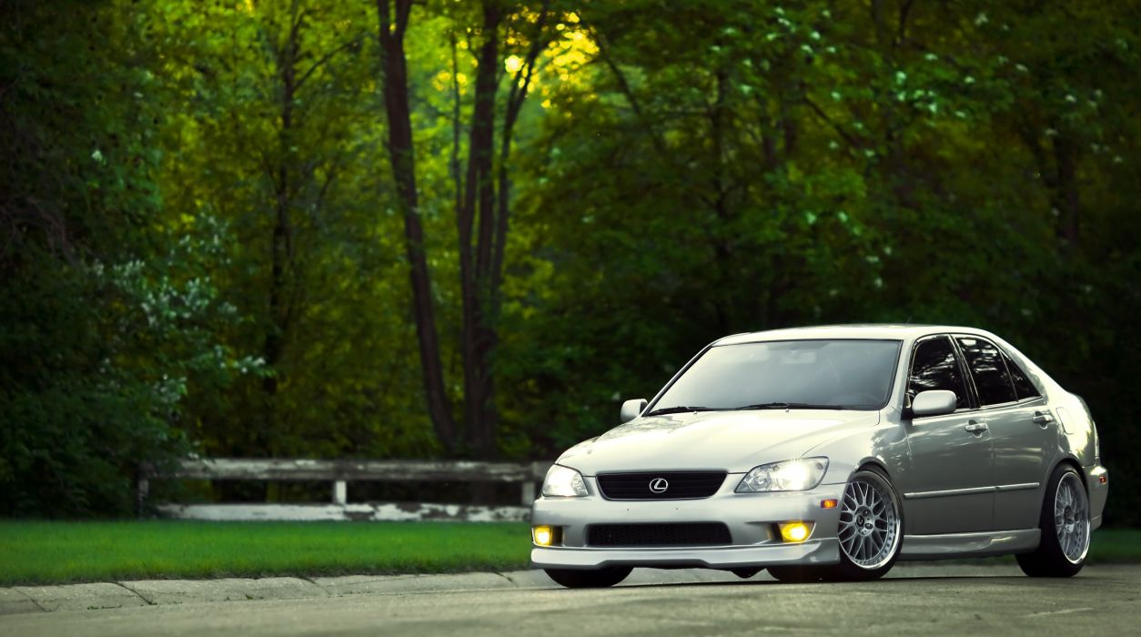 lexus is-250 is-300 japan cars tuning wallpaper