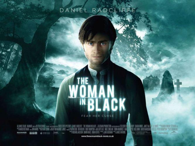 WOMAN-IN-BLACK drama horror thriller dark woman black wallpaper