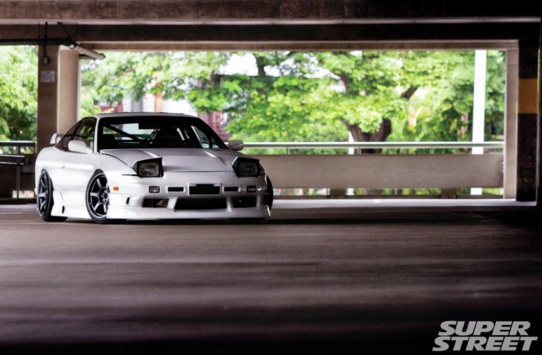 nissan 240SX coupe japan tuning cars wallpaper