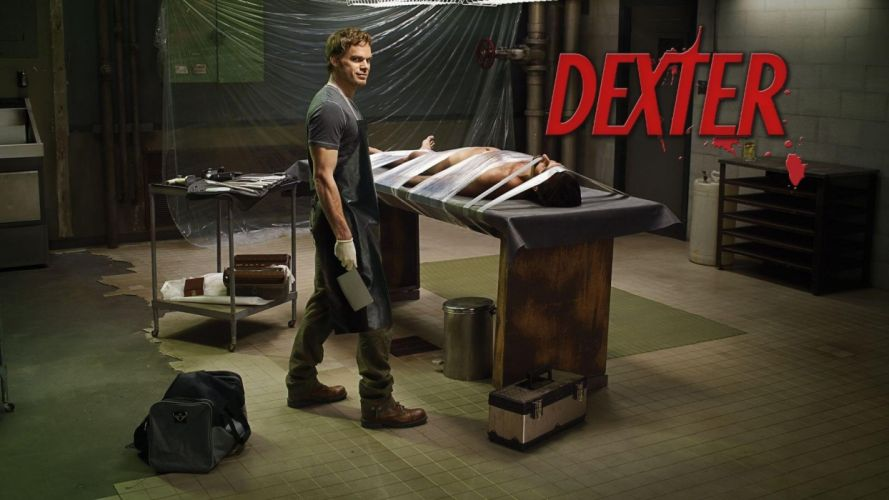 DEXTER crime drama mystery series killer comedy horror dark wallpaper