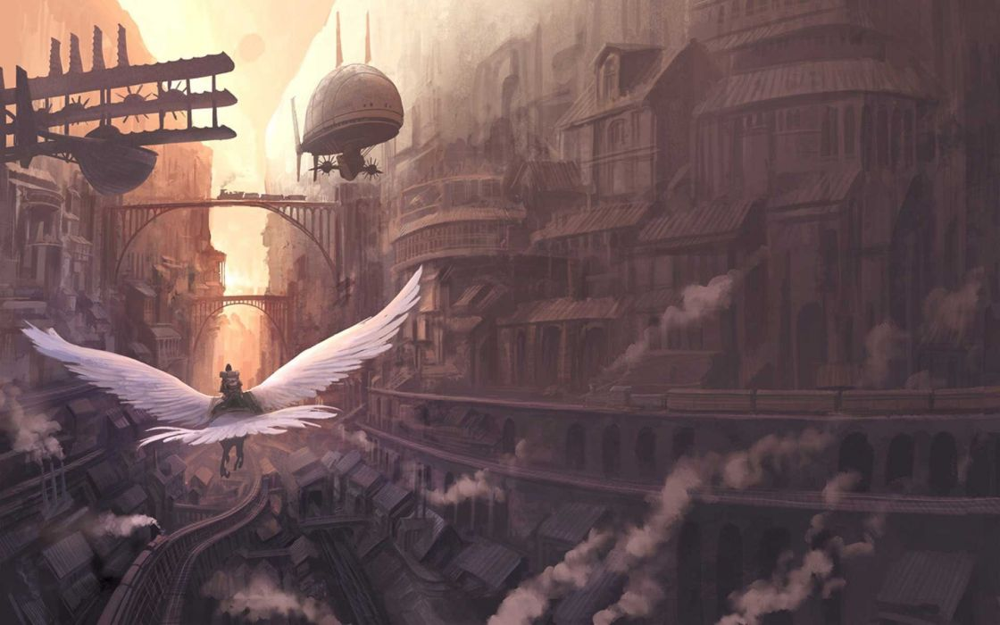 Steampunk Inspired wallpaper