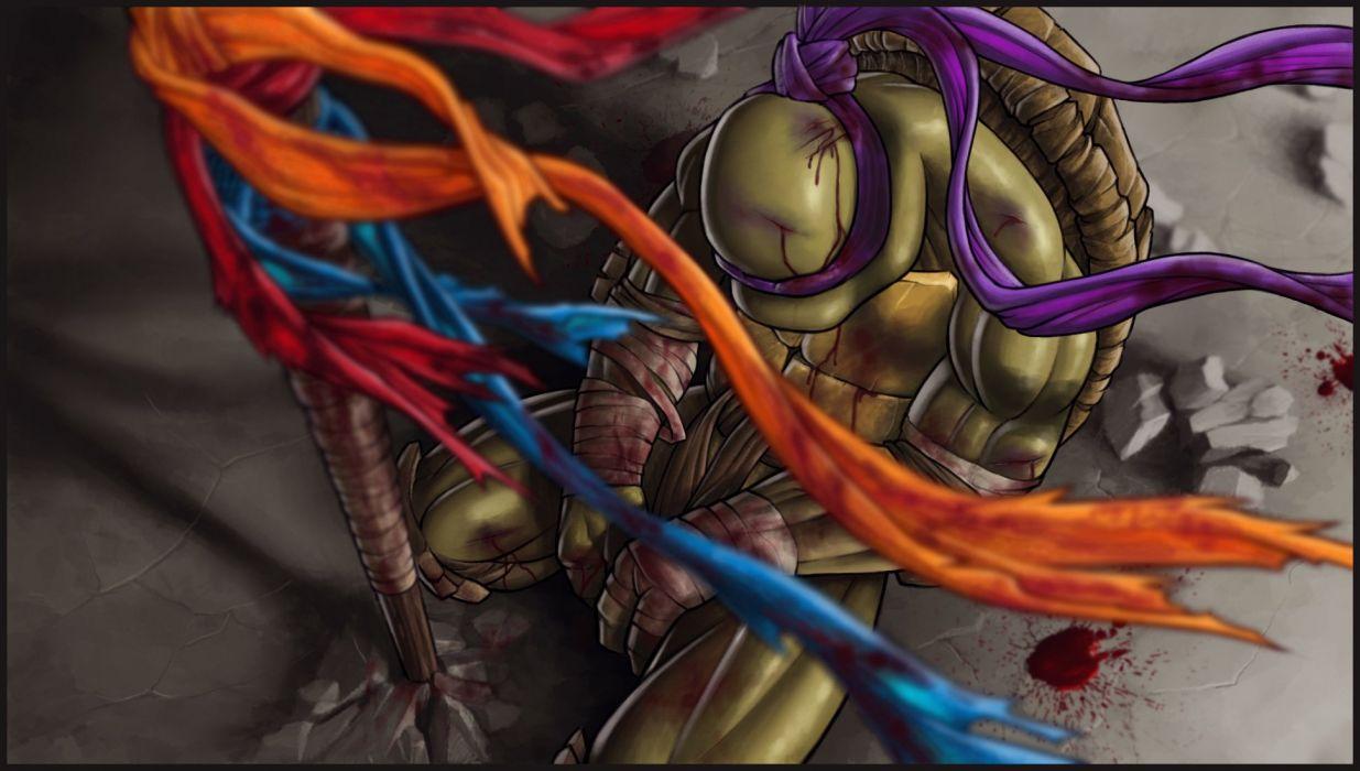 Teenage Mutant Ninja Turtles donatello hero fantasy wallpaper