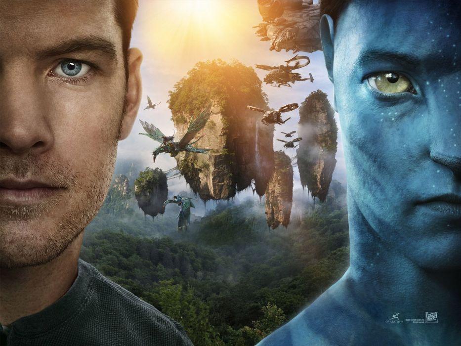 Avatar film movies sunlight character wallpaper