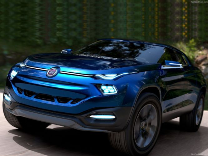 Fiat FCC4 Concept cars suv wallpaper