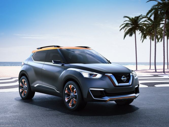 Nissan Kicks Concept cars suv 2014 wallpaper
