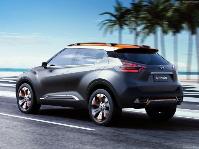Nissan Kicks Concept cars suv 2014 wallpaper