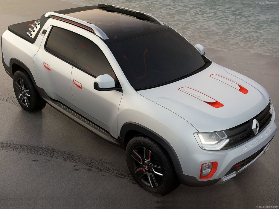 Renault Duster Oroch Concept cars pickup 2014 wallpaper