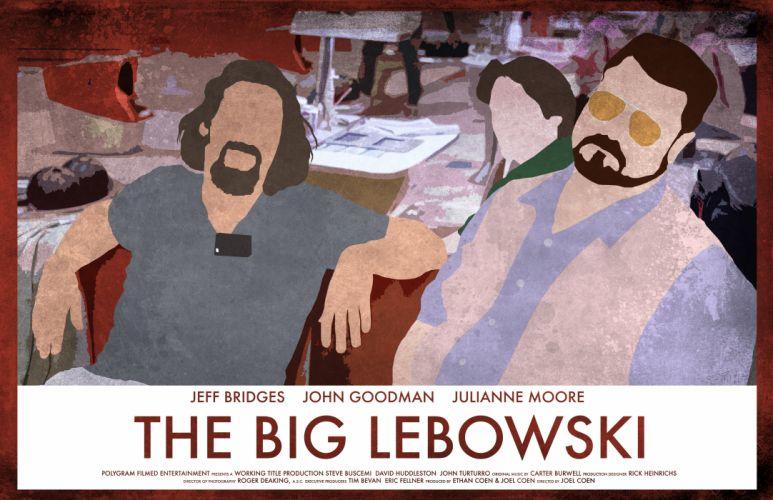 THE BIG LEBOWSKI comedy crime wallpaper