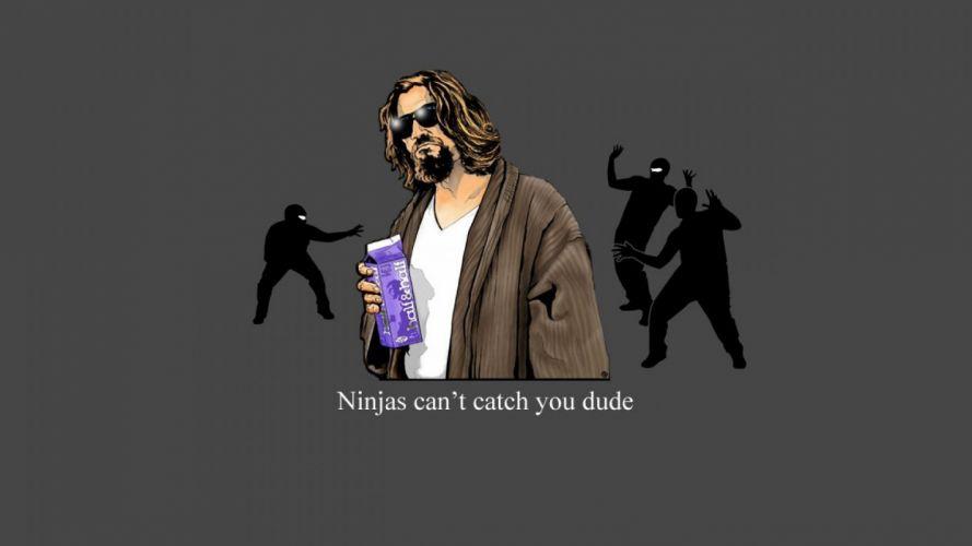 THE BIG LEBOWSKI comedy crime ninja wallpaper