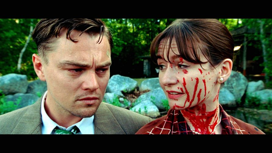 SHUTTER ISLAND dicaprio mystery thriller crime horror blood wallpaper