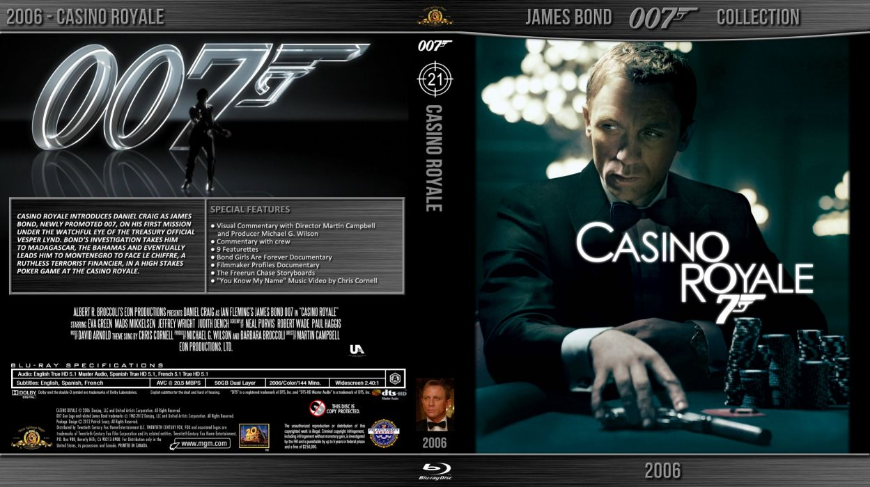 CASINO ROYALE bond action adventure thriller wallpaper