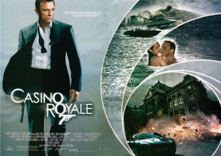 CASINO ROYALE bond action adventure thriller weapon gun pistol poster wallpaper