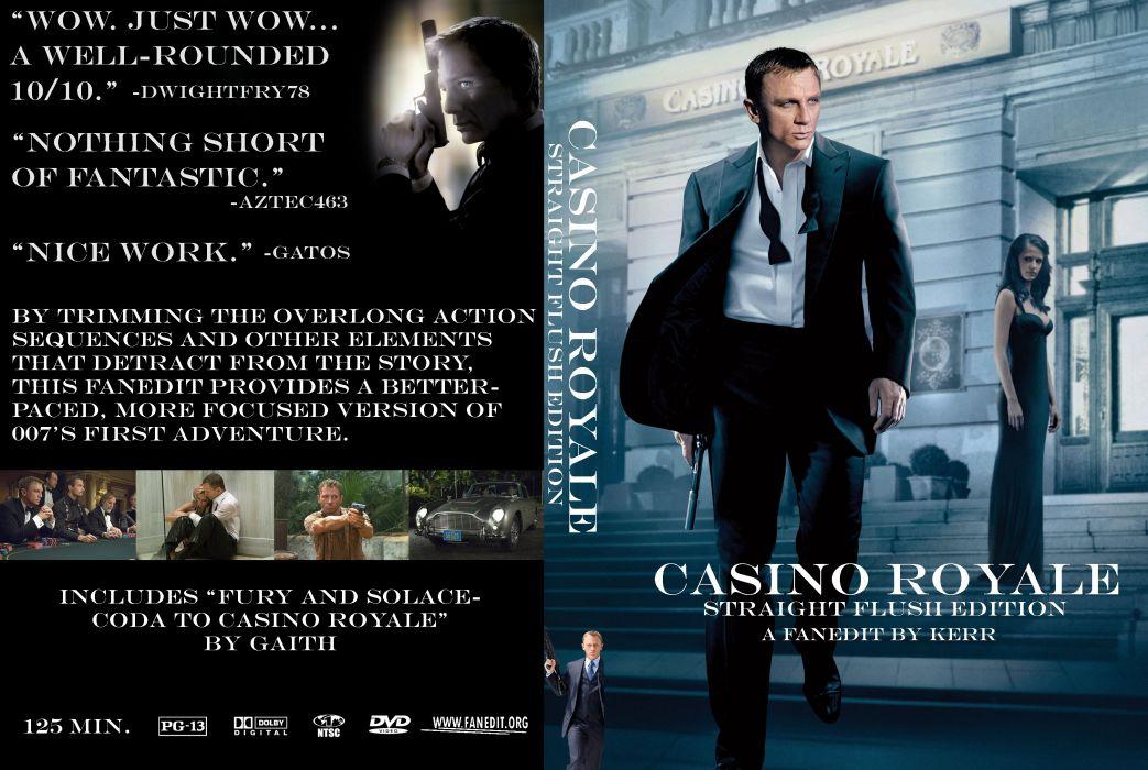 CASINO ROYALE bond action adventure thriller wallpaper