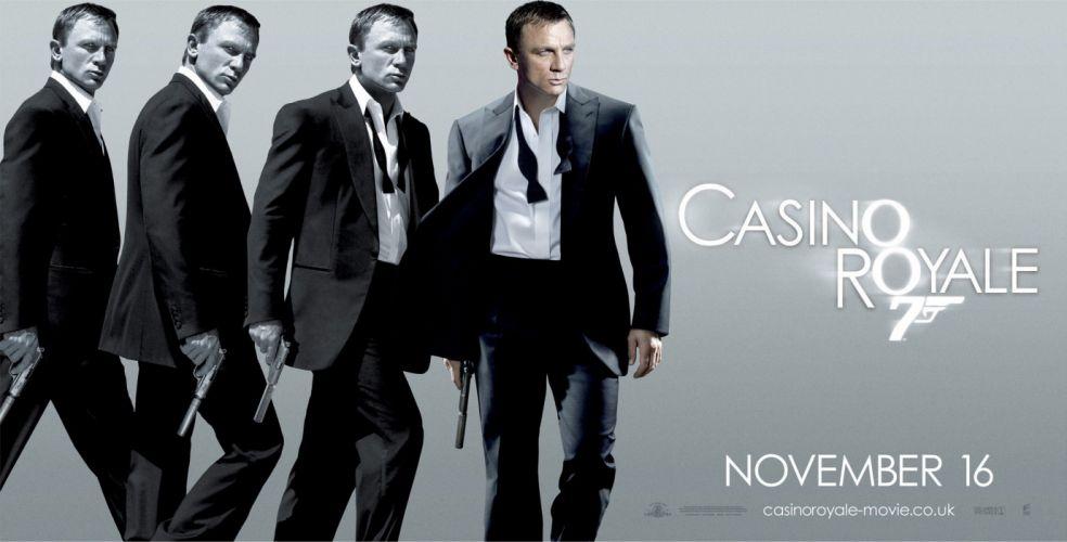 CASINO ROYALE bond action adventure thriller weapon gun pistol wallpaper