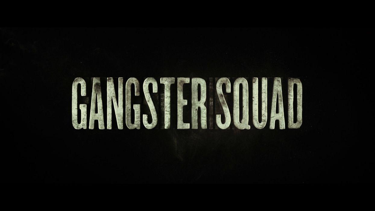 GANGSTER SQUAD mafia action crime drama penn wallpaper