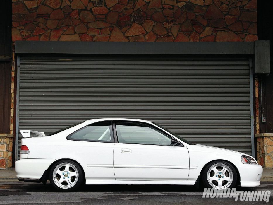 Honda civic cars coupe sedan type-r japan tuning wallpaper