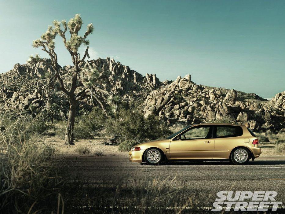 Honda civic cars coupe sedan type-r japan tuning wallpaper