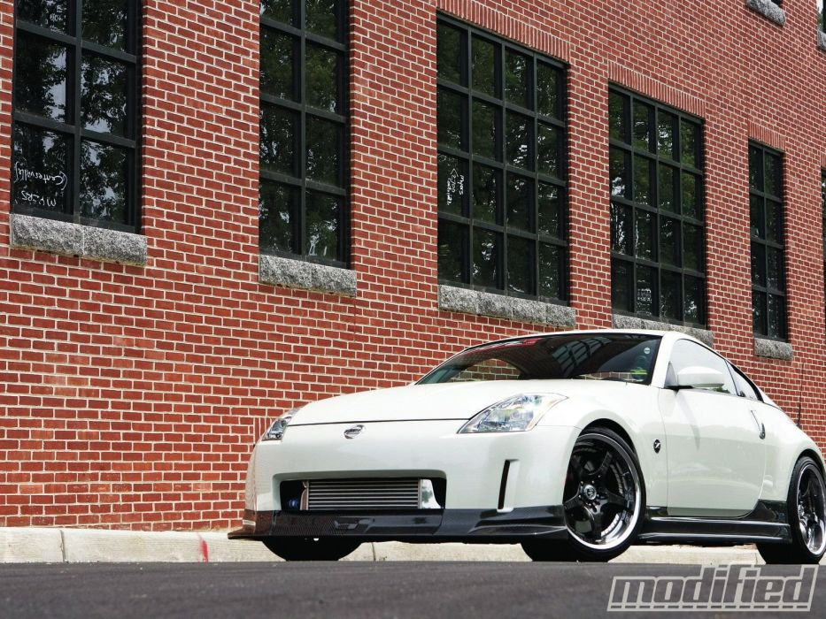 nissan 350Z coupe tuning cars japan wallpaper
