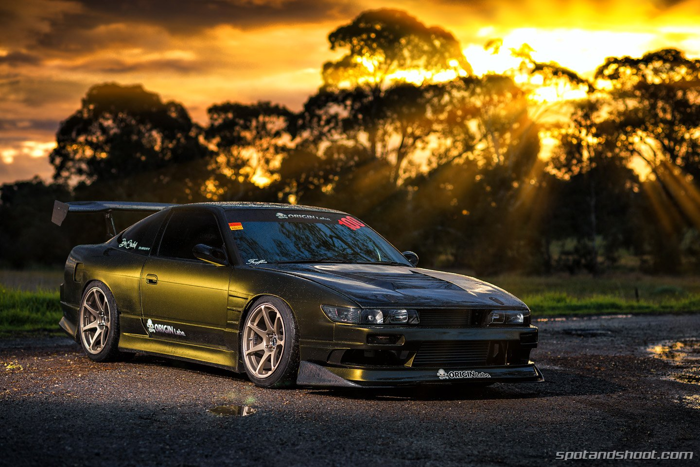 Nissan 180SX Coupe Tuning Cars Japan Wallpaper 1440x961