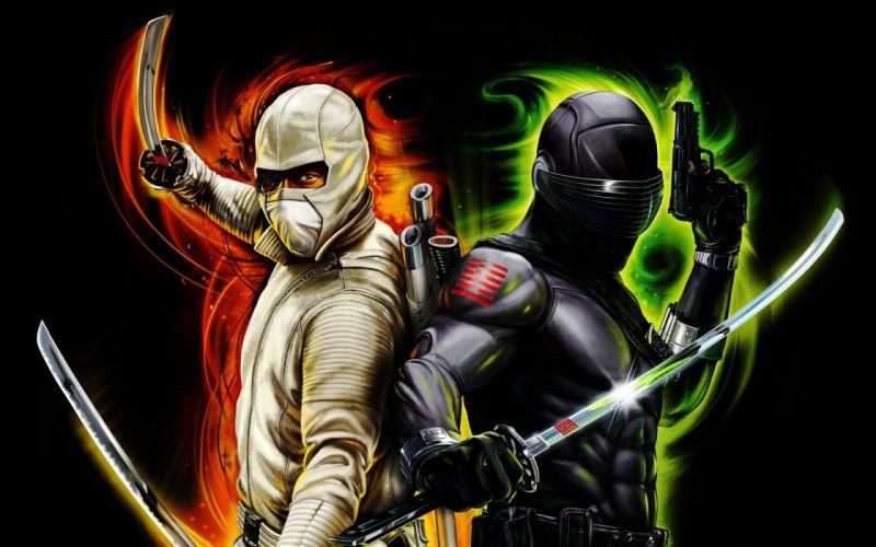 G-I JOE RISE COBRA action adventure sci-fi wallpaper