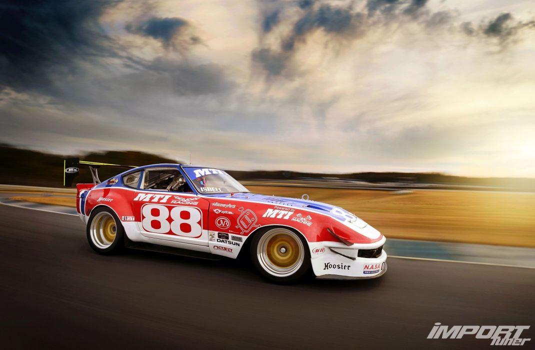 nissan datsun 240z coupe japan tuning cars fairlady wallpaper