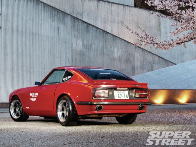 nissan datsun 240z coupe japan tuning cars fairlady wallpaper