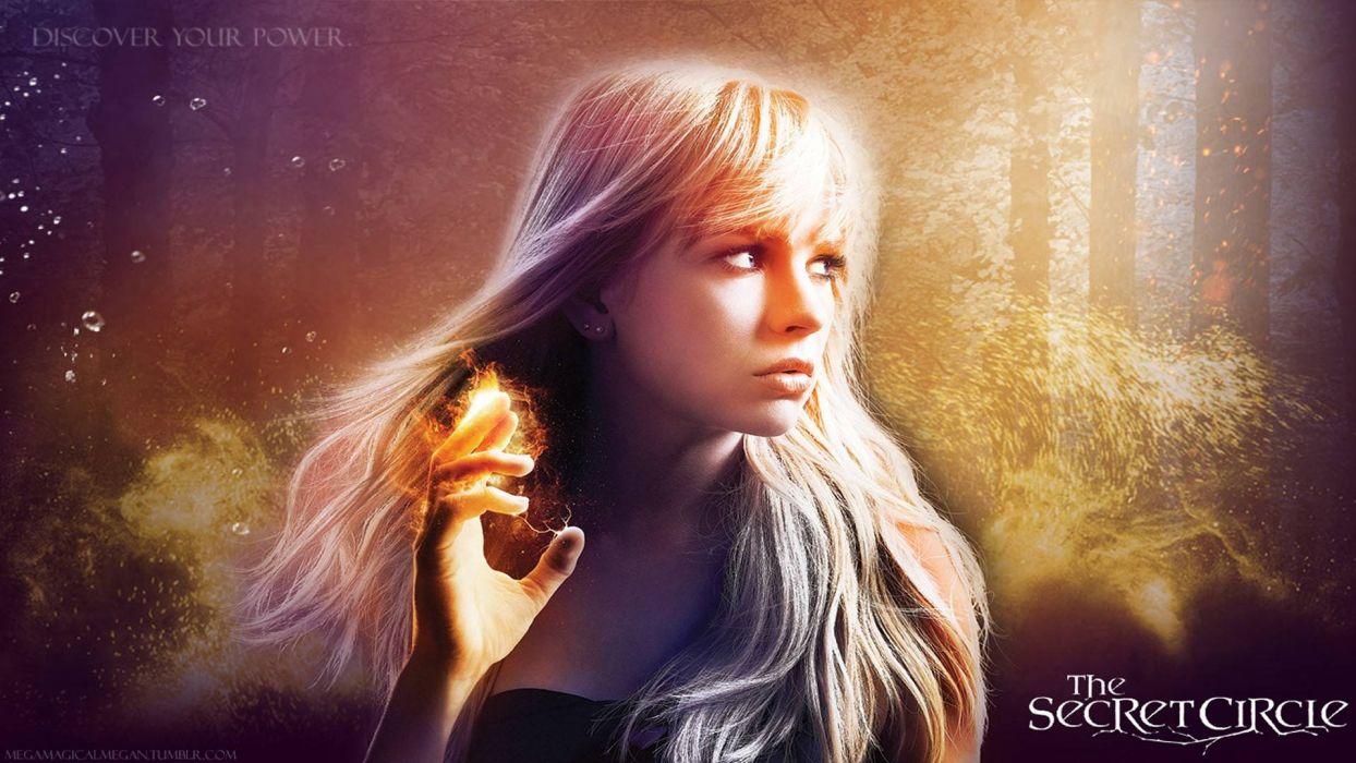 SECRET CIRCLE drama fantasy horror series supernatural wallpaper