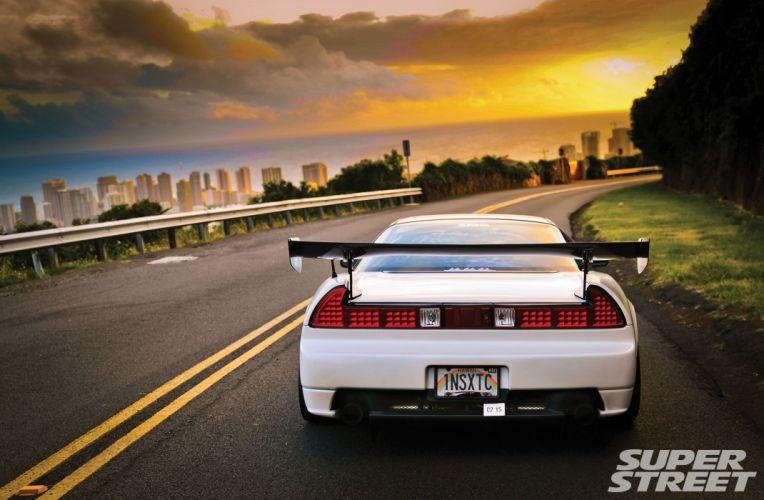 honda acura nsx tuning japan supercars cars coupe wallpaper