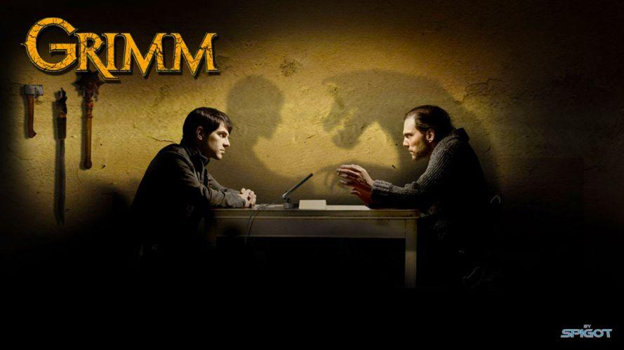 GRIMM supernatural drama horror fantasy series wallpaper