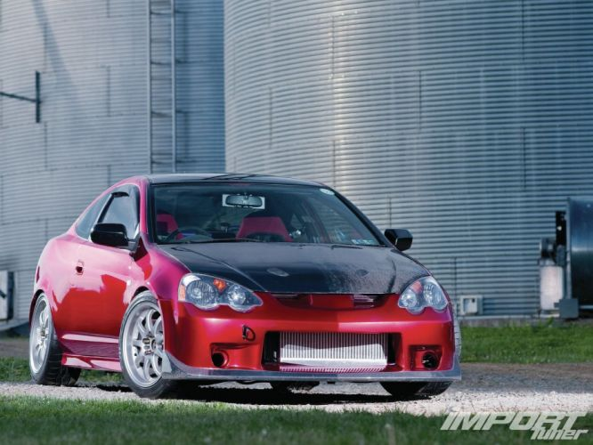Acura RSX honda coupe tuning cars japan wallpaper
