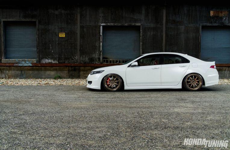 Acura TSX sedan japan cars tuning honda wallpaper