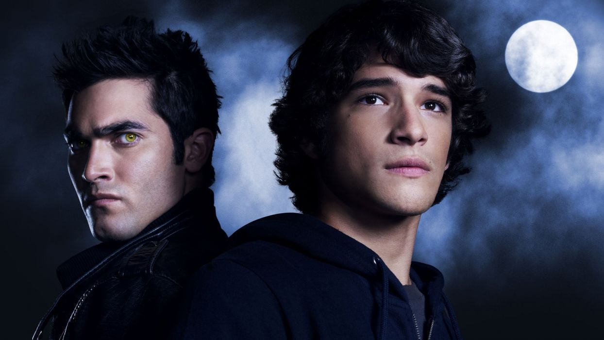 TEEN WOLF comedy drama horror dark series werewolf wallpaper
