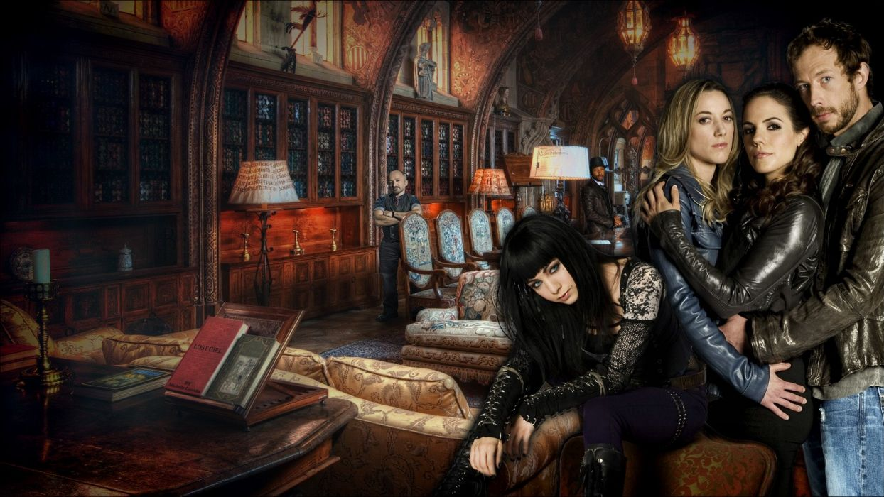 LOST GIRL crime fantasy supernatural drama wallpaper