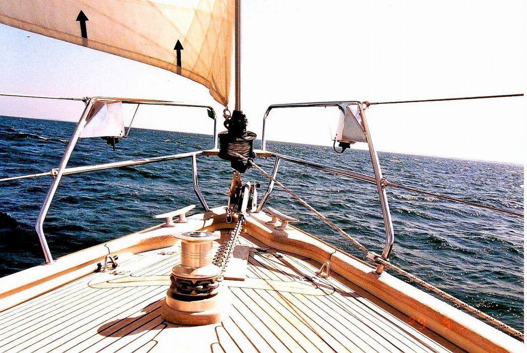 boat sailingboat najad spill anker  wallpaper