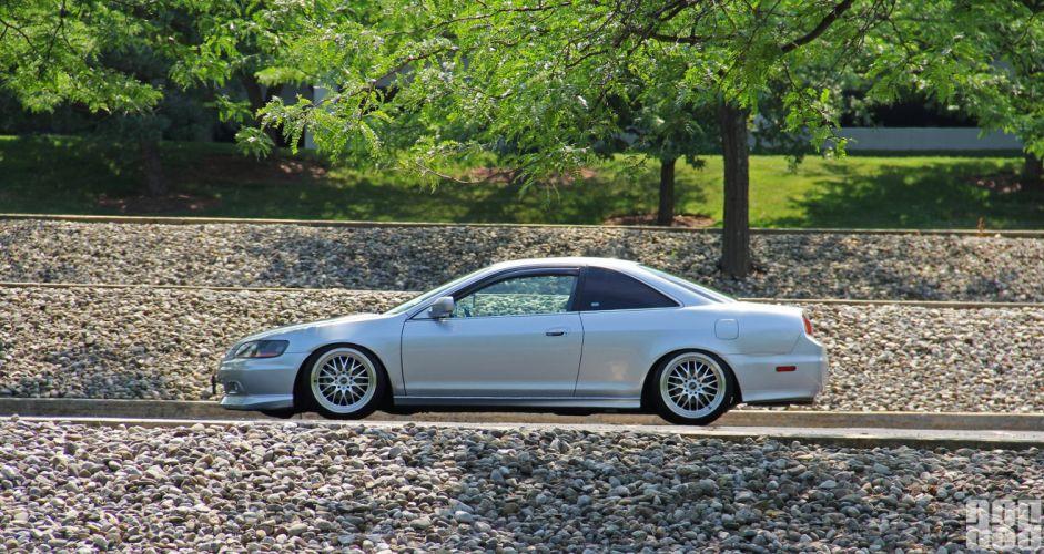 Honda accord coupe sedan wheels tuning japan cars wallpaper
