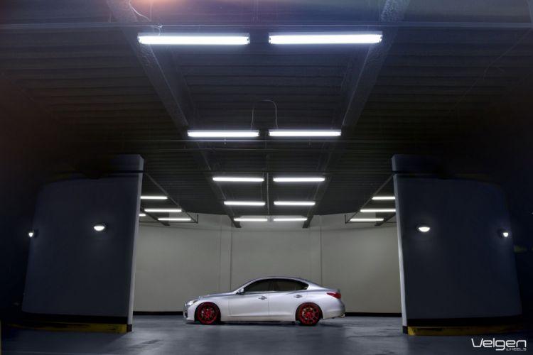 Infiniti Q50s cars tuning Velgen Wheels wallpaper