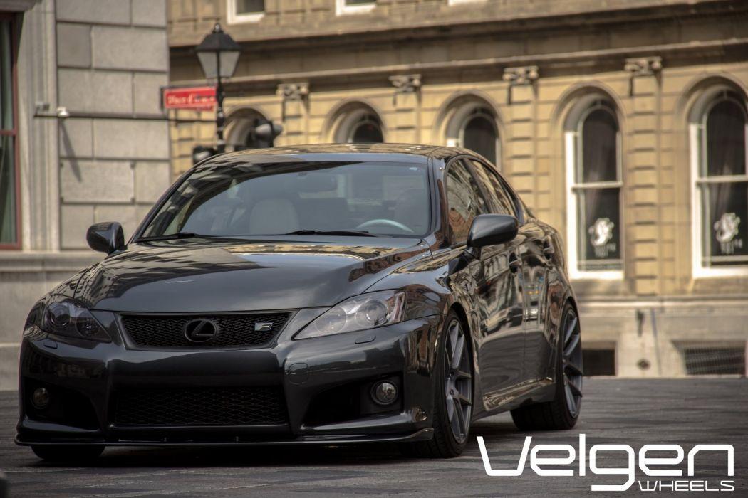 Lexus ISF cars tuning Velgen Wheels wallpaper