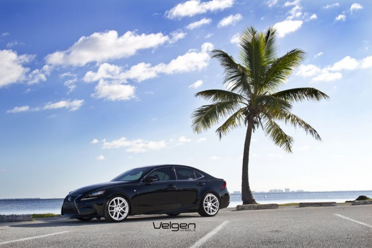 LEXUS IS250 F SPORT cars tuning Velgen Wheels wallpaper