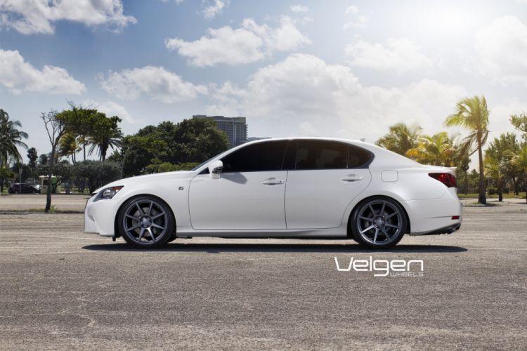 Lexus GS350 F Sport cars tuning Velgen Wheels wallpaper