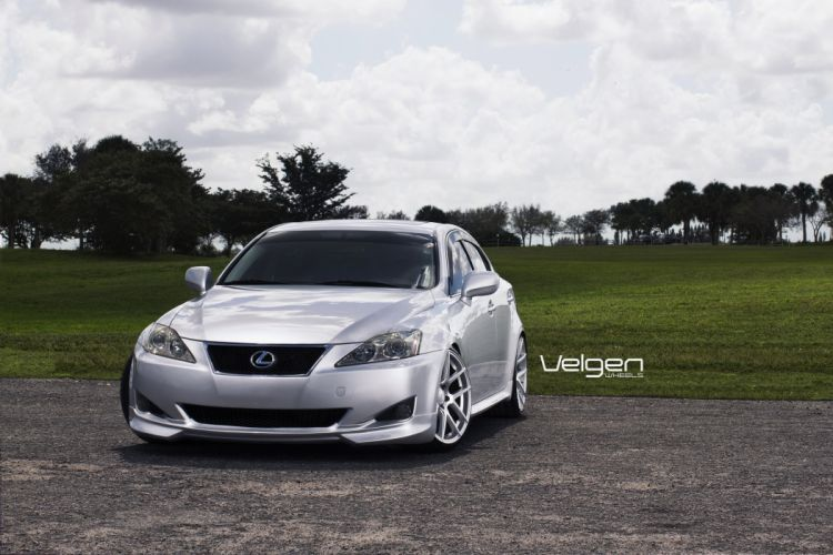 LEXUS IS250 Sport cars tuning Velgen Wheels wallpaper