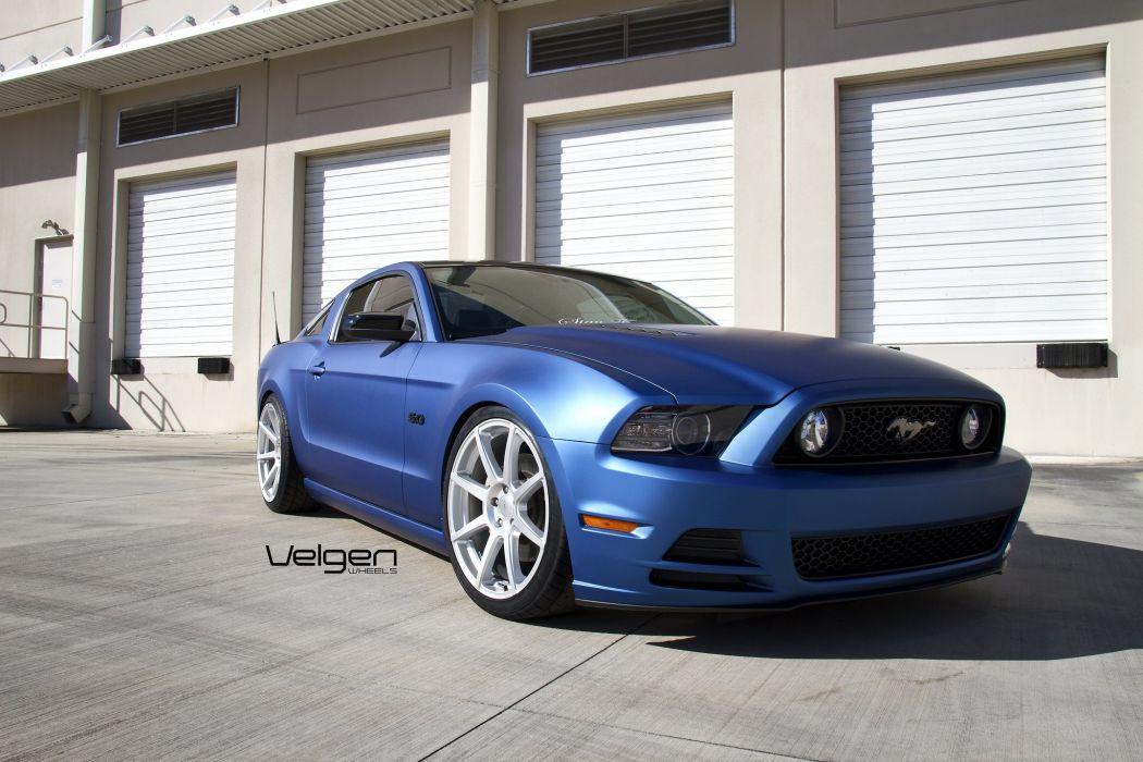 Ford Mustang Gt Cars Tuning Velgen Wheels Wallpaper