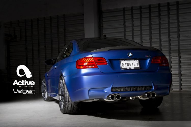BMW E92 M3 cars tuning Velgen Wheels wallpaper