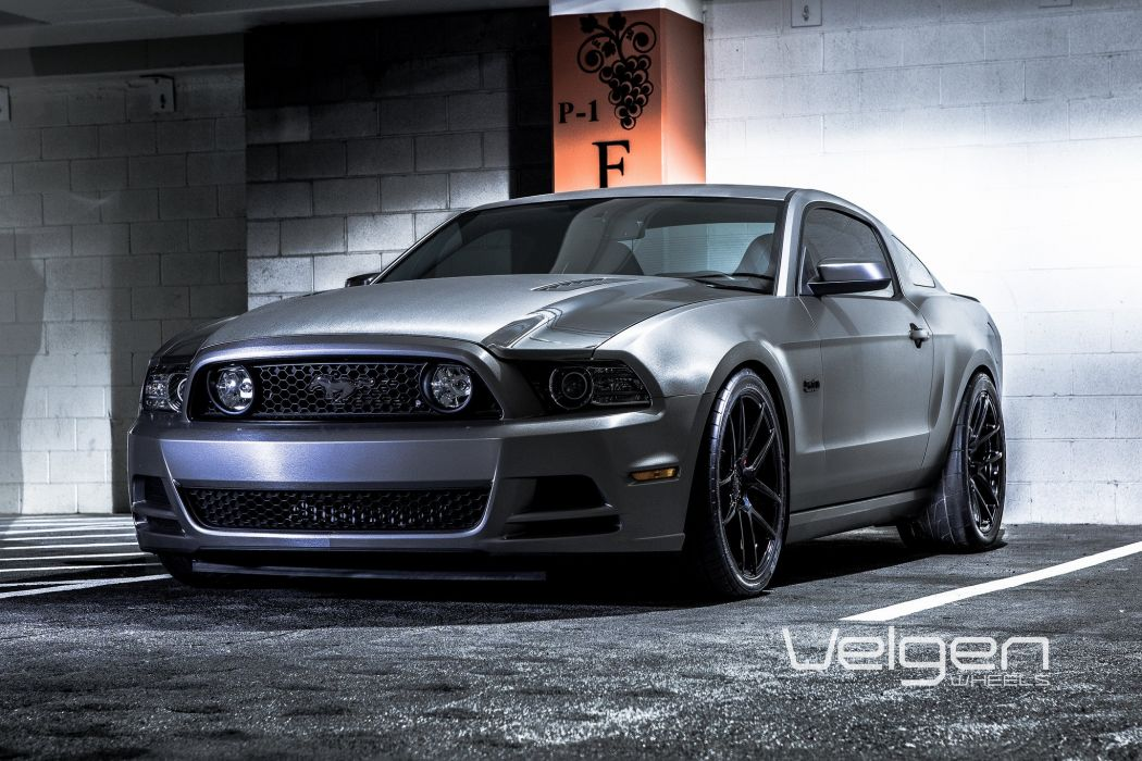 Ford Mustang cars tuning Velgen Wheels wallpaper
