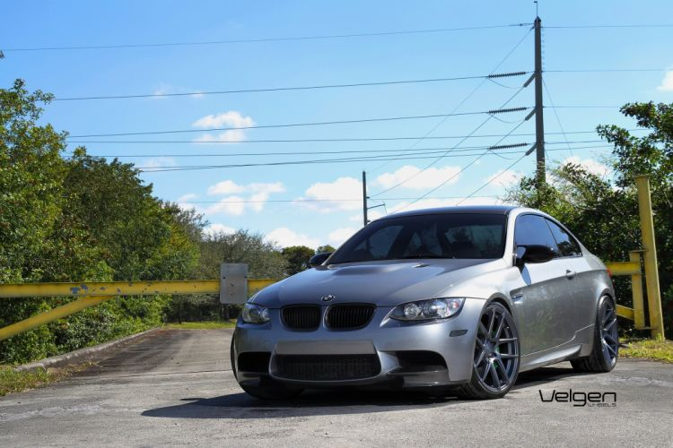 BMW E92 M3 cars tuning Velgen Wheels wallpaper