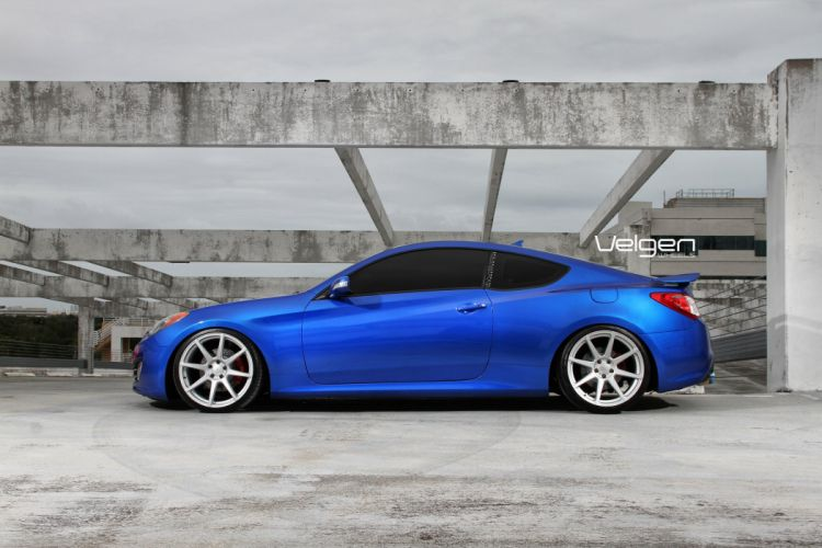 Hyundai Genesis Coupe Tuning Velgen wheels cars wallpaper
