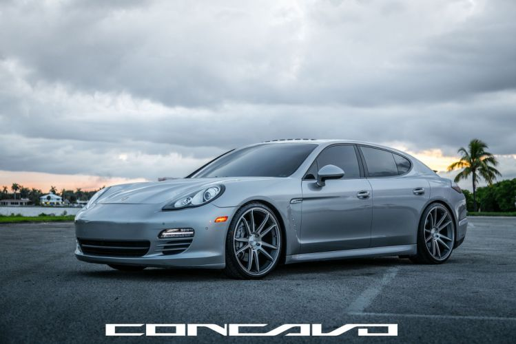 Porsche Panamera Tuning concavo wheels cars wallpaper